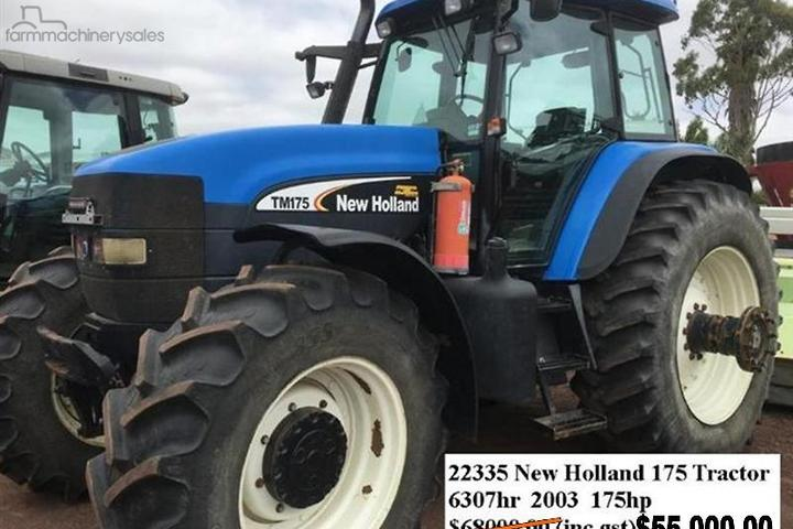 New Holland Tractors for Sale in Australia