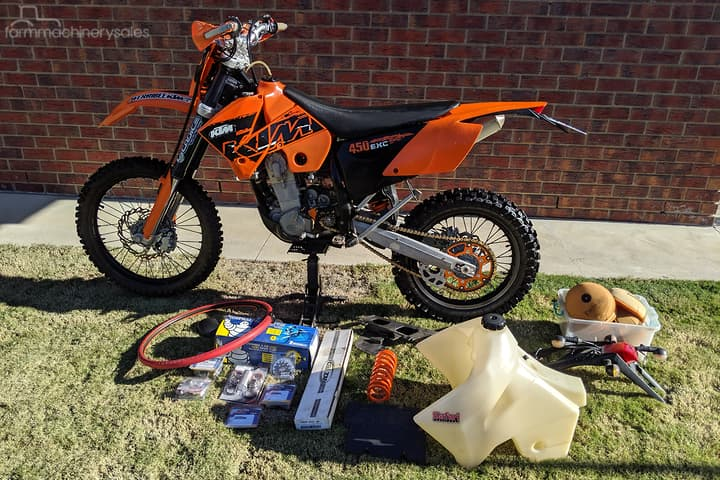 KTM 450 EXC Farm machinery & equipments for Sale in