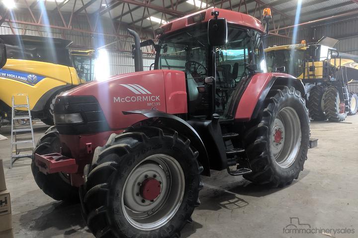 McCormick Tractors for Sale in Australia - farmmachinerysales com au