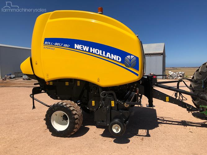 New Holland Baler Round Hay & Silages for Sale in Australia