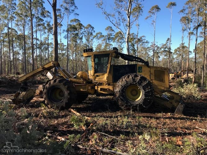 Tigercat Forestry Machines for Sale in Australia