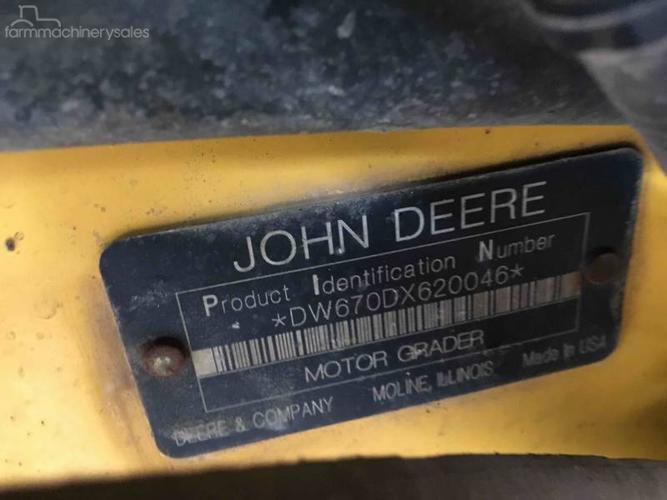 John Deere 670D Farm machinery & equipments for Sale in