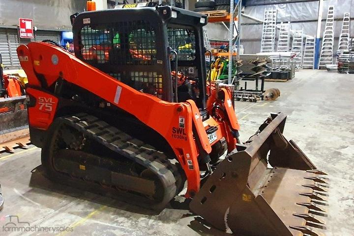 Kubota Skidsteer Loaders for Sale in Australia
