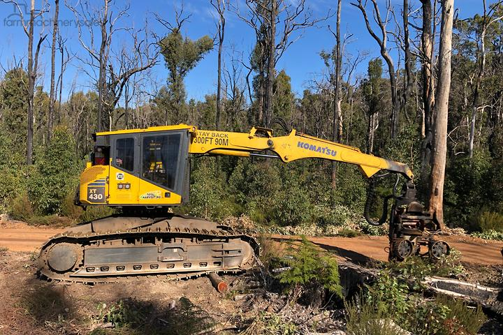 Used Equipment & Parts Harvester Tracked Forestry Machines for Sale