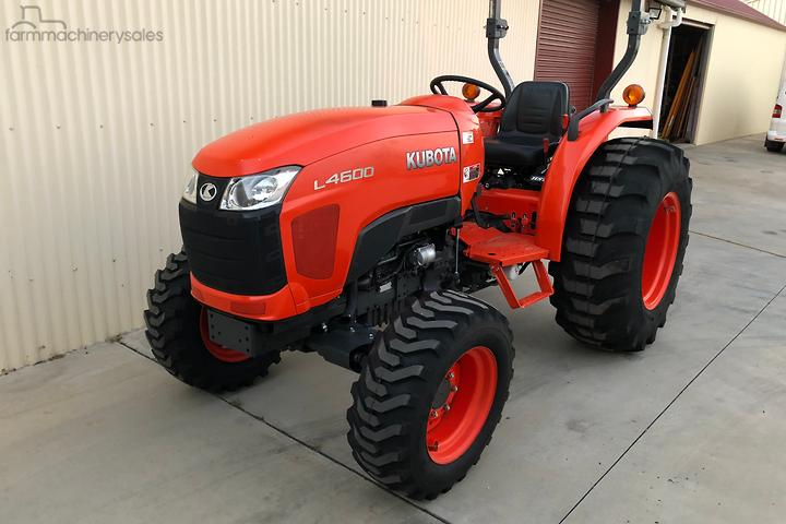 Kubota Tractors for Sale in Australia - farmmachinerysales