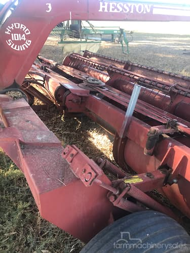 Hesston 1014 x2 Hay Mower Hay & Silages for Sale in Australia