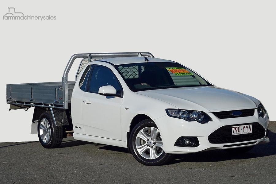 2014 Ford Falcon Ute XR6 FG MkII Auto Super Cab-OAG-AD