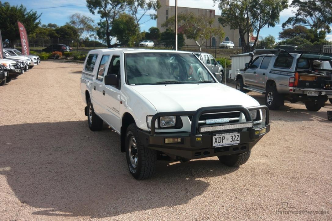 2001 Holden Rodeo LX TF Manual 4x4 MY01