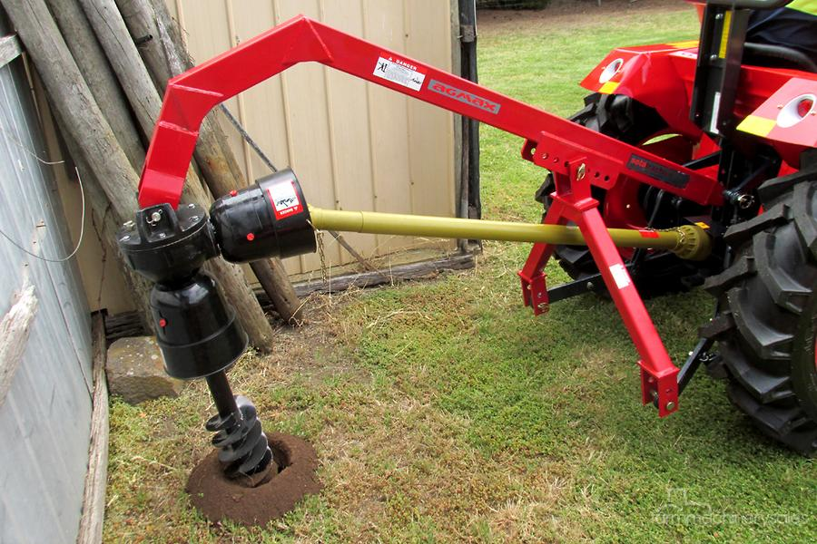 AGMAX PDMD Post Hole Digger With Auger - Medium Duty-OAG-AD