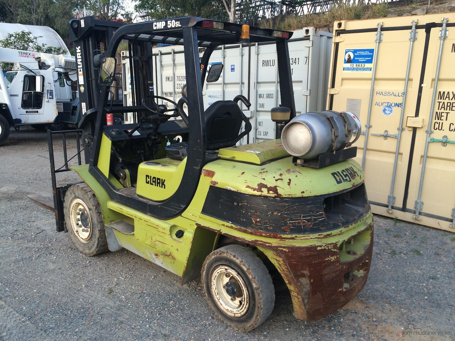 2007 Clark CMP50SL 5T Forklift-SSE-AD-3873822 - farmmachinerysales