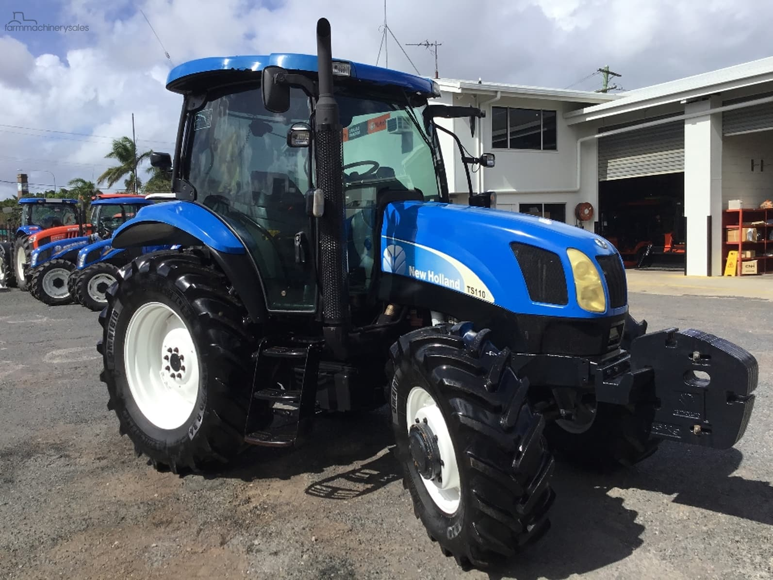 2005 New Holland TS110A-OAG-AD-16395098 - farmmachinerysales com au