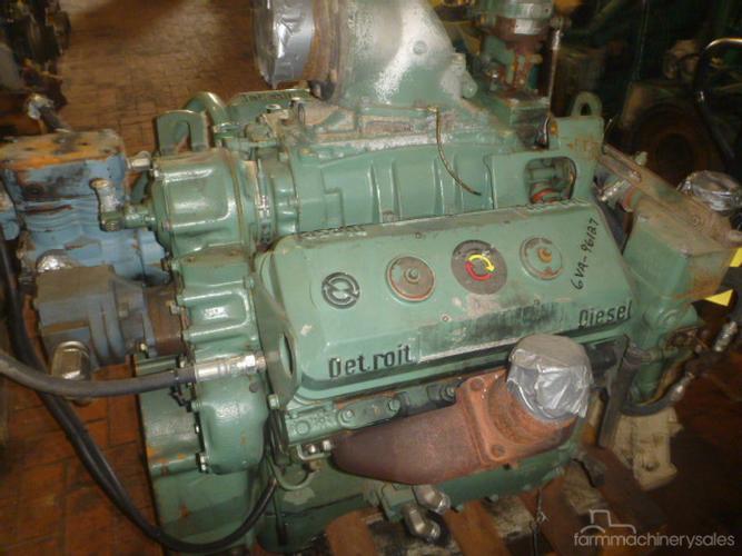 DETROIT 6V71 EX MILITARY Diesel Engine Engines & Motors for