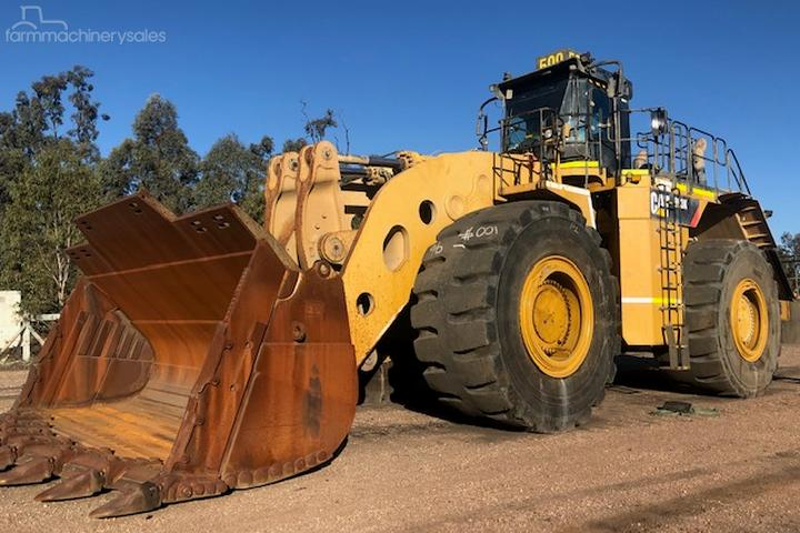 Used Caterpillar 993K Equipment & Parts Wheel Loaders for