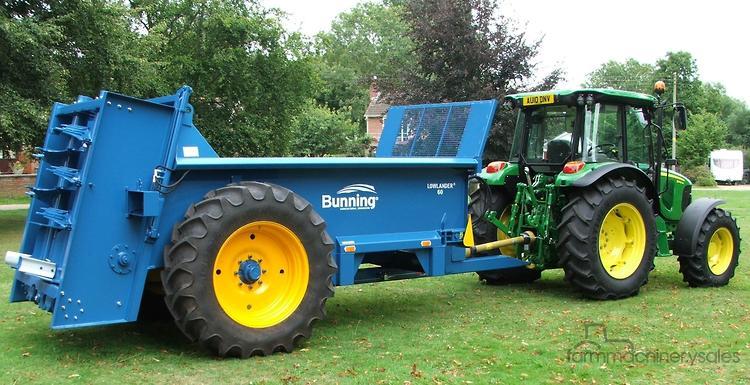 BUNNING Bunning 60 Manure Spreader Equipment & Parts Farm