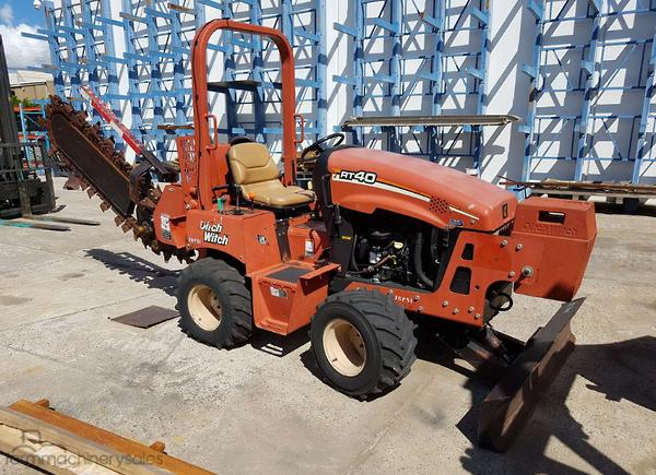 Used Ditch Witch Trencher Trenchings for Sale in Queensland