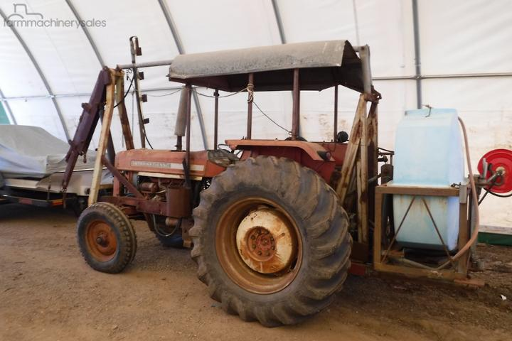 International 574 TRACTOR Equipment & Parts Farm machinery ... on