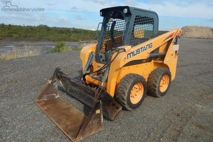 Mustang Skidsteer Loaders for Sale in Australia