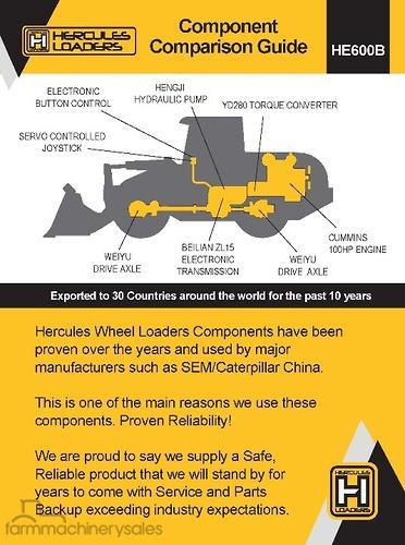 Hercules Equipment & Parts Farm machinery & equipments for