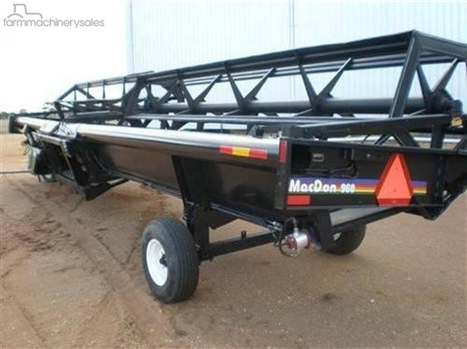 MacDon 960 Farm machinery & equipments for Sale in Australia