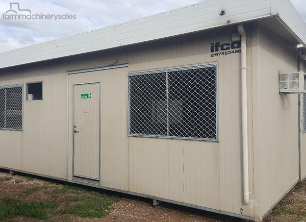 Used Used 8 4m x 8m Portable Building Sheds & Transportable