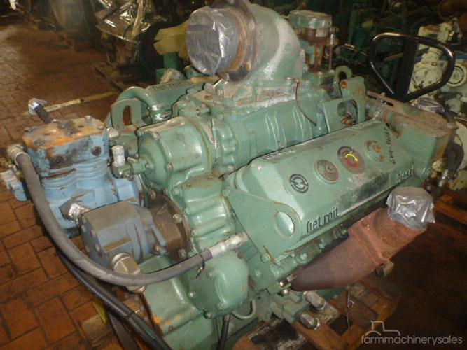 DETROIT 6V71 EX MILITARY Diesel Engine Engines & Motors for