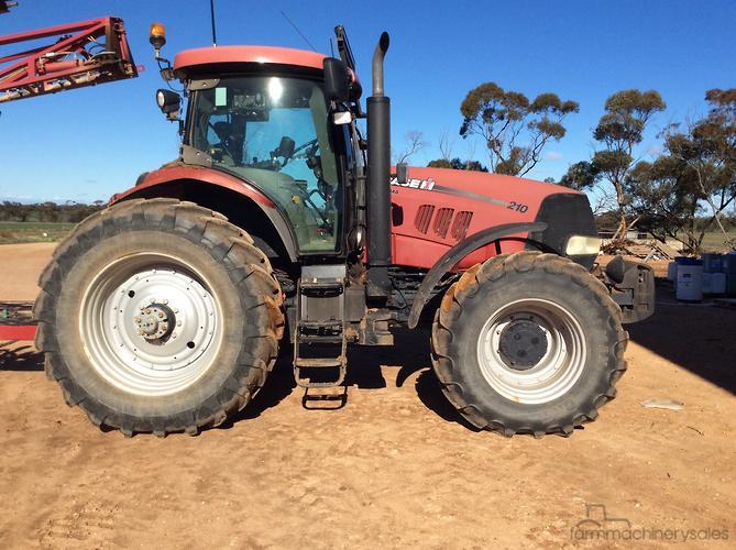 CASE IH Puma 210 Farm machinery & equipments for Sale in Australia