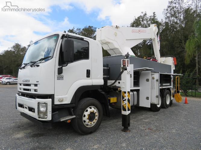Isuzu Equipment & Parts Cherry Picker Trucks for Sale in Australia