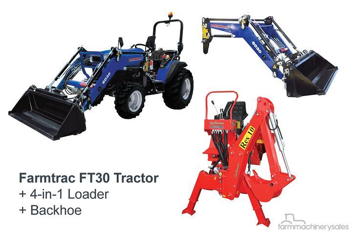 Farmtrac 4WD & FWA Tractors for Sale in Australia