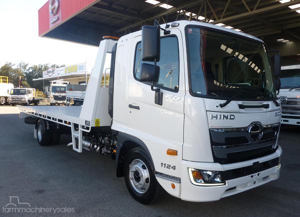 Hino FD 1124 500 Series Equipment & Parts Trucks with Engine Power