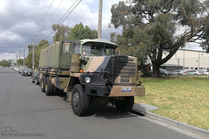 Mack ex-army NIL 6x6 Equipment & Parts Farm machinery
